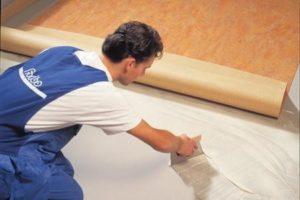 Põrandatööd Linoleum katete paigaldus