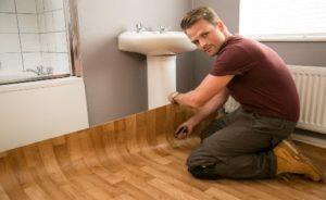 Põrandatööd PVC katete paigaldus