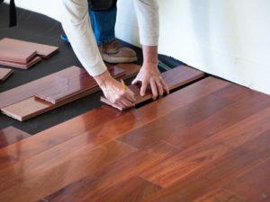 Põrandatööd Parkett- ja laminaatpõrandate paigaldus